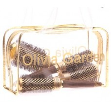 Olivia Garden Ceramic+Ion Nano Thermic arany körkefe szett